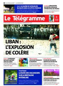 Le Télégramme Guingamp – 09 août 2020