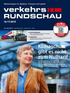 VerkehrsRundschau - 18. April 2019