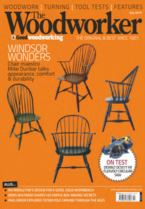 The Woodworker & Woodturner - July 2019