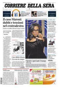 Corriere della Sera - 9 Gennaio 2018