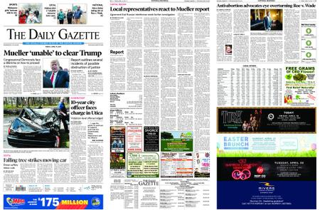 The Daily Gazette – April 19, 2019