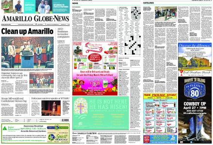 Amarillo Globe News – April 19, 2019