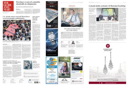 The Globe and Mail – October 05, 2018