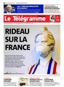 Le Télégramme Concarneau – 15 mars 2020