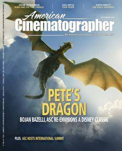 American Cinematographer - September 2016