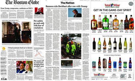 The Boston Globe – January 10, 2018