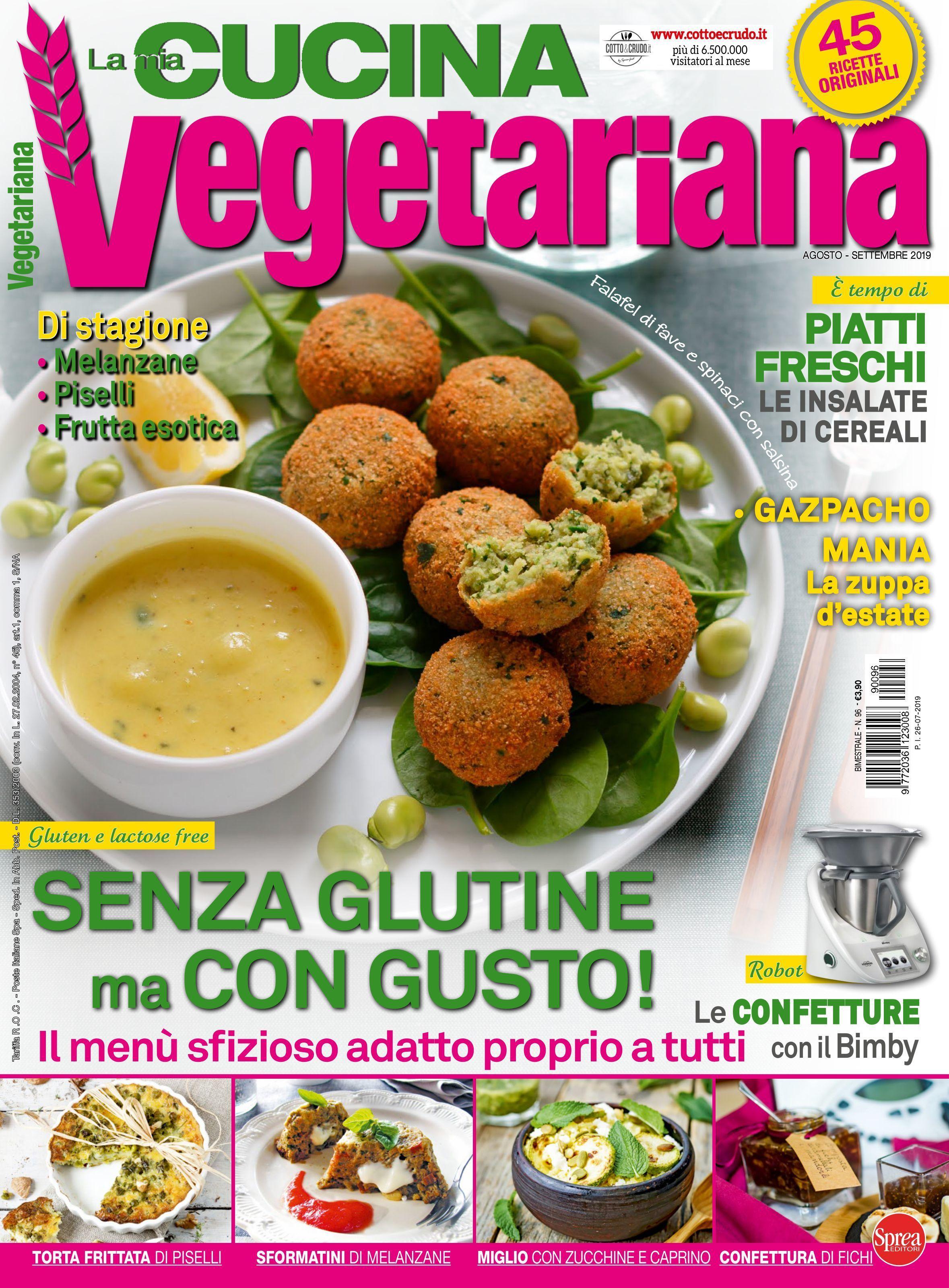 La Mia Cucina Vegetariana – Agosto-Settembre 2019
