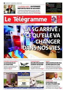 Le Télégramme Brest Abers Iroise – 18 novembre 2020