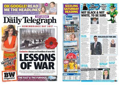 The Daily Telegraph (Sydney) – November 11, 2017