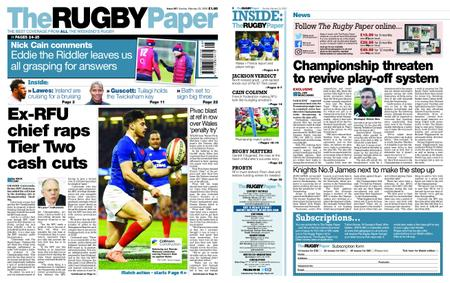 The Rugby Paper – February 23, 2020