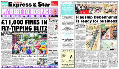 Express and Star Sandwell Edition – October 09, 2017
