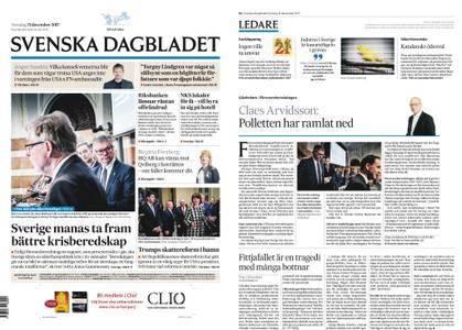 Svenska Dagbladet – 21 december 2017