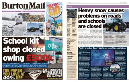 Burton Mail – January 26, 2021