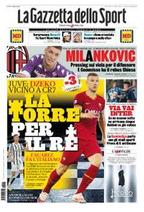 La Gazzetta dello Sport Roma – 16 settembre 2020
