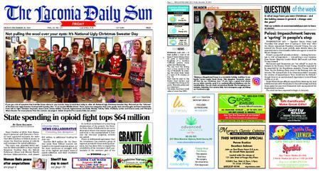 The Laconia Daily Sun – December 20, 2019