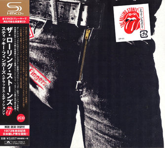 The Rolling Stones - Sticky Fingers (1971) 2CD Deluxe Edition, Japanese SHM-CD 2015 [Re-Up]