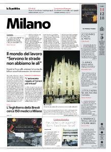 la Repubblica Milano - 14 Dicembre 2018
