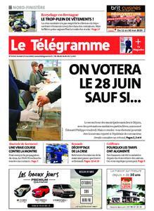 Le Télégramme Brest Abers Iroise – 23 mai 2020
