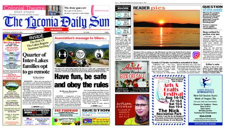 The Laconia Daily Sun – August 15, 2020