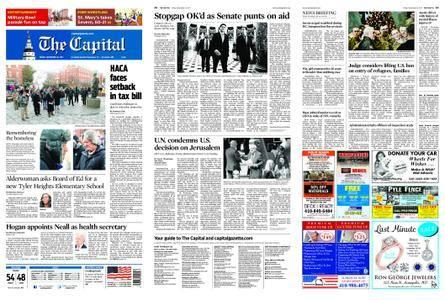 The Capital – December 22, 2017