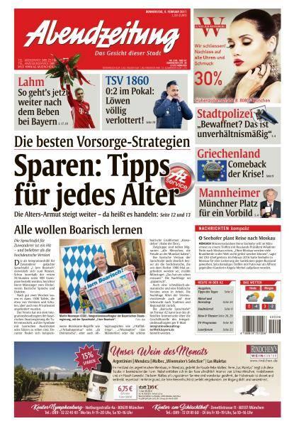 Abendzeitung München - 9 Februar 2017