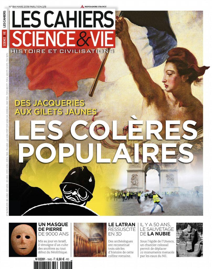 Les Cahiers de Science & Vie - mars 2019