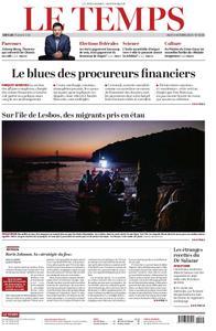Le Temps - 03 octobre 2019