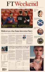 Financial Times Europe - April 24, 2021