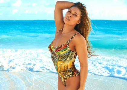 Ronda Rousey - Sports Illustrated Body Paint 2016 (part 2)