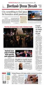 Portland Press Herald – September 21, 2020