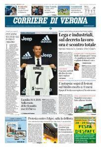 Corriere di Verona - 27 Luglio 2018