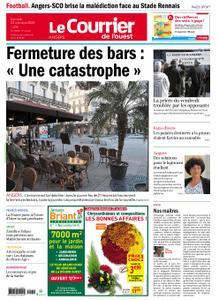 Le Courrier de l'Ouest Angers – 24 octobre 2020