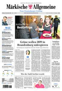 Neue Oranienburger Zeitung - 26. November 2018