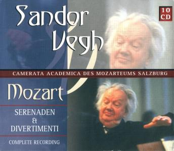 Sandor Vegh - Mozart: Serenaden & Divertimenti (10 CD) (1991)