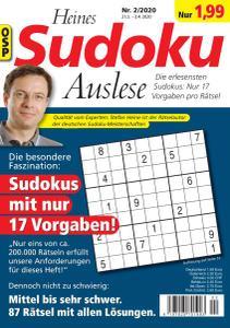 Heines Sudoku - Nr.2 2020