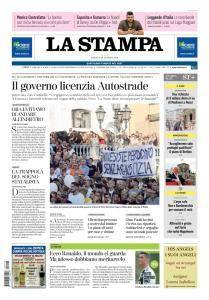 La Stampa Torino Provincia e Canavese - 18 Agosto 2018