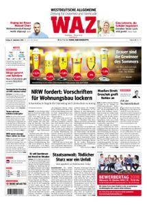 WAZ Westdeutsche Allgemeine Zeitung Oberhausen-Sterkrade - 21. September 2018