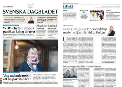 Svenska Dagbladet – 02 mars 2020