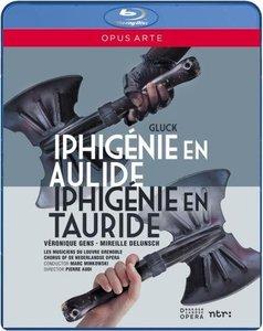 Marc Minkowski, Les Musiciens du Louvre Grenoble - Gluck: Iphigenie en Aulide, Iphigenie en Tauride (2013) [Blu-Ray]