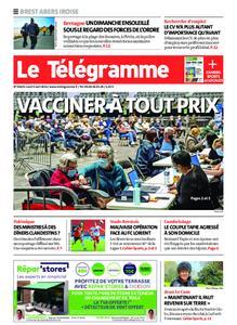 Le Télégramme Brest Abers Iroise – 05 avril 2021