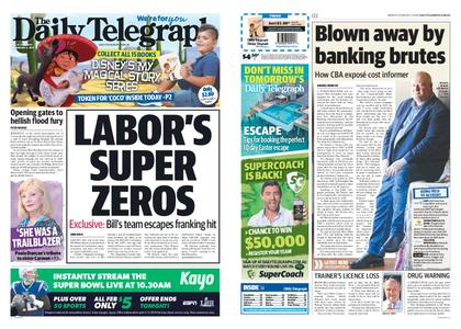 The Daily Telegraph (Sydney) – February 04, 2019