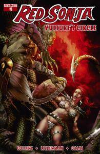 Red Sonja Vultures Circle 0052015 2 covers Digital Exclusive Edition