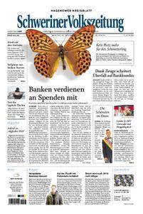 Schweriner Volkszeitung Hagenower Kreisblatt - 20. November 2017