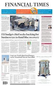 Financial Times Europe - June 1, 2020