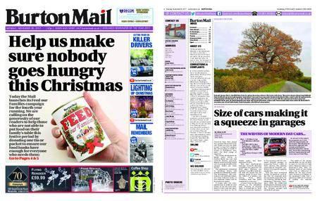Burton Mail – November 20, 2017