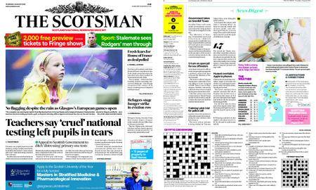 The Scotsman – August 02, 2018