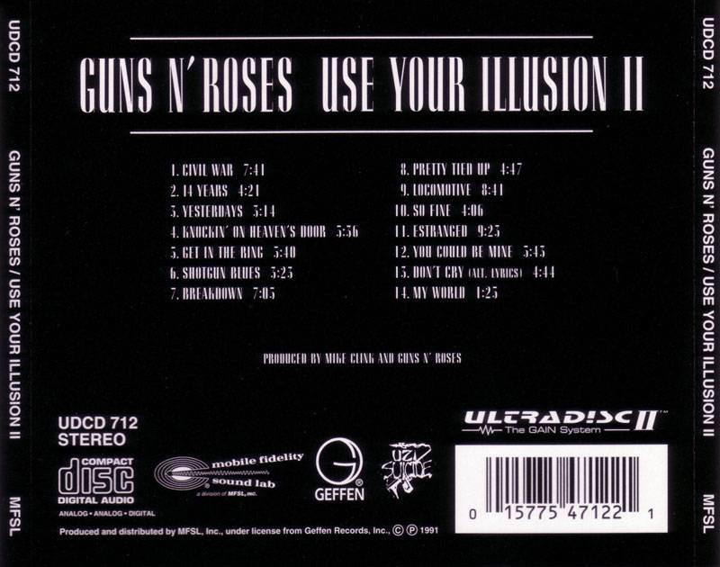 Guns N' Roses - Use Your Illusion II (1991) [MFSL, UDCD 712]