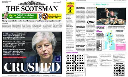 The Scotsman – January 16, 2019