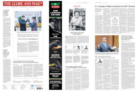 The Globe and Mail – February 11, 2020