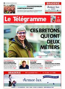 Le Télégramme Concarneau – 20 novembre 2019